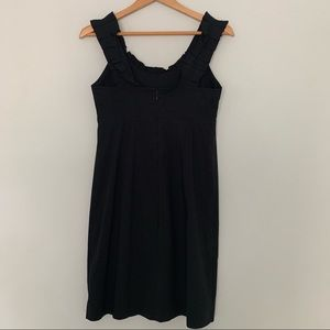 Preowned Banana Republic Dress LBD BLACK Size 4